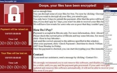 Kako se zaštititi od aktuelne WannaCry Ransomware pretnje