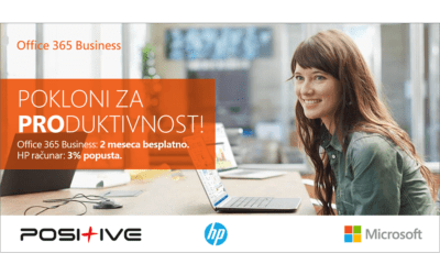 AKCIJA – OFFICE 365 BUSINESS – HP RAČUNAR